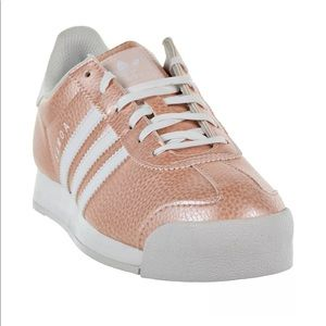 *SOLD* Brand new adidas Samoa sneakers - rose gold